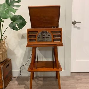Crosley Record Player & Stand